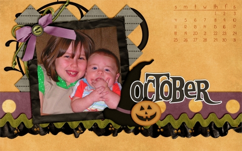 calendar october 2009
